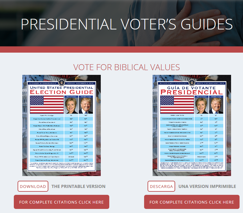 News Flash!  Voter Guides Are In!