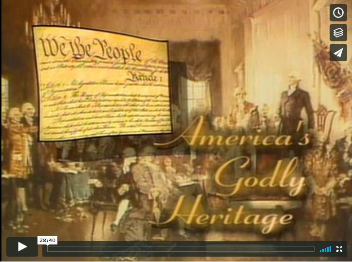 "David Barton on ""America's Godly Heritage:  Part I"""